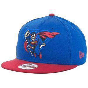 New Era Superman 9Fifty Snapback Cap Hat